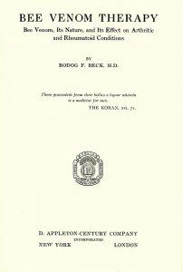 Обложка книги Бека, 1935 год