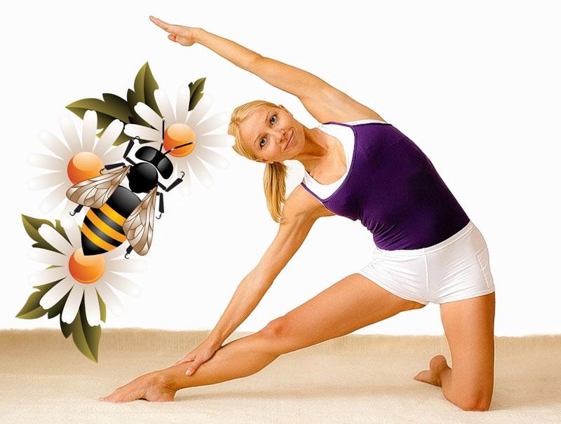 Лечение суставов пчёлами